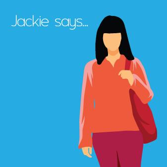 Jackie says…
